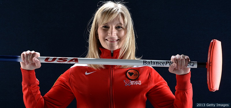 Erika Brown competed in the 1988 Olympics and returns to the Sochi Olympics with medal aspirations. (Team USA Photo)