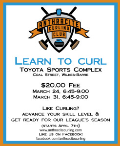 Learn to Curl 2015 Flyer